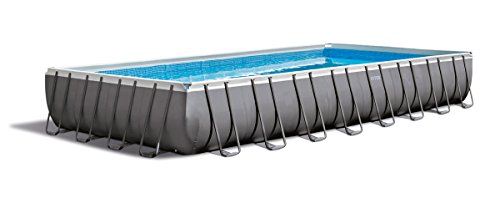 Detalles de la piscina desmontable Intex Ultra Frame