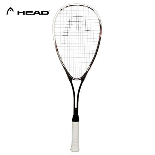Detalles de la raqueta de squash