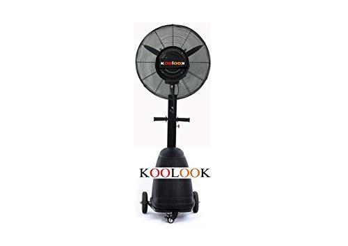 Detalles del ventilador con nebulizador Koolook