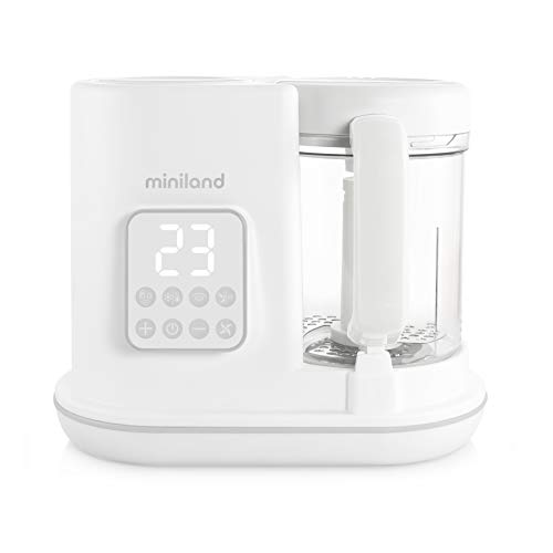 Detalles del procesador de alimentos para bebé Miniland Baby
