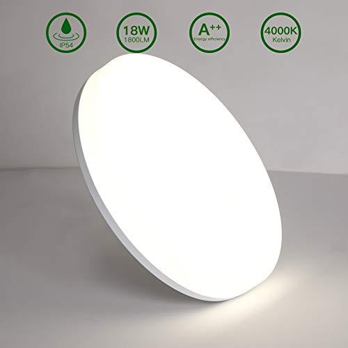 Detalles de la lámpara de techo LED Aogled