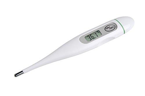 Detalles del termómetro digital con señal acústica Medisana FTC