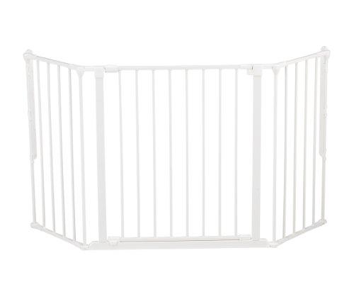 Descripción de la barrera de seguridad para niños BabyDan Configure