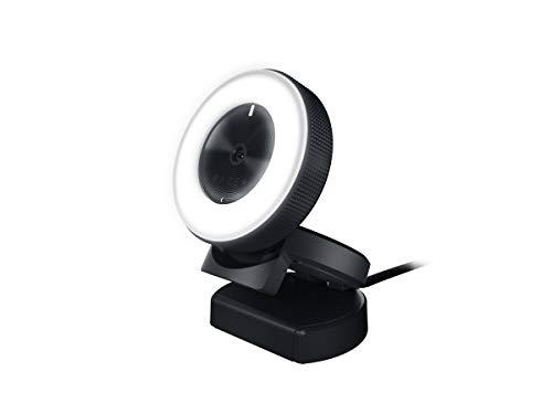 Detalles de la webcam de streaming Razer Kiyo