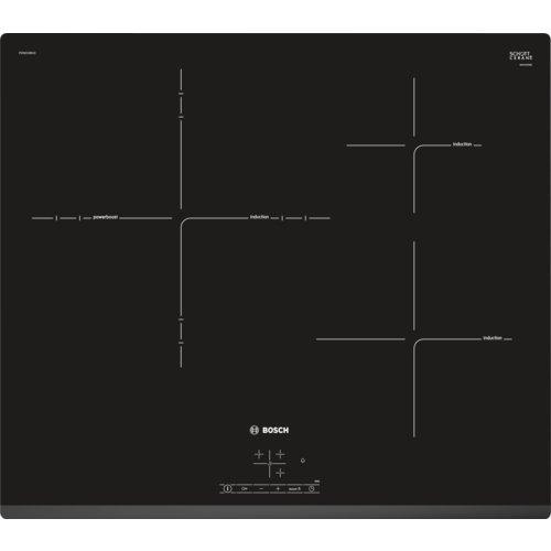 Detalles de la vitrocerámica Bosch Series 4 PID631BB1E