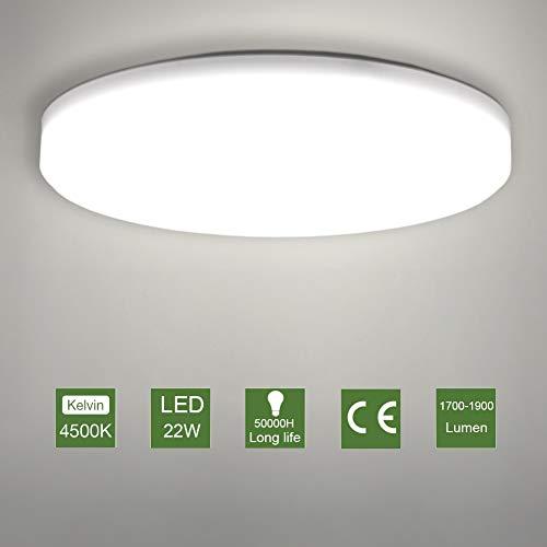 Detalles del plafón LED de techo Oowolf