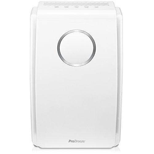 Detalles del purificador de aire con pre-filtro Pro Breeze