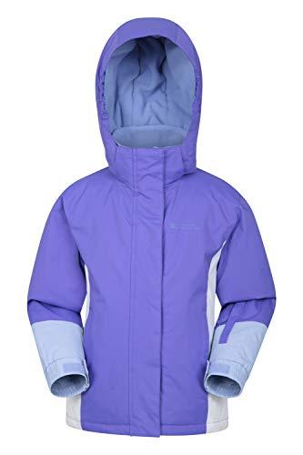 Detalles del abrigo infantil de Mountain Warehouse Honey