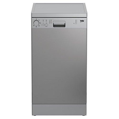 Detalles del mini-lavavajillas Beko DFS05011X