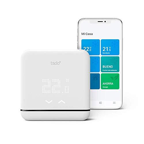 tado° Control de Climatización Inteligente V3+, trabaja con Amazon Alexa, Apple HomeKit y Asistente de Google