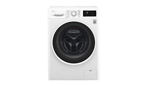 Detalles de la lavadora secadora LG F4J6TM0W