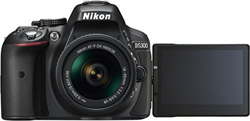 Detalles de la cámara réflex Nikon D5300