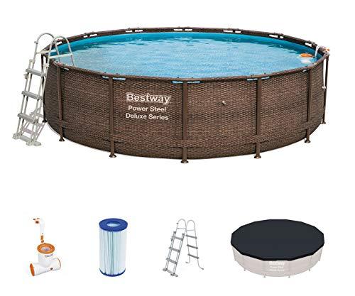 Detalles de la piscina desmontable Bestway Power Steel