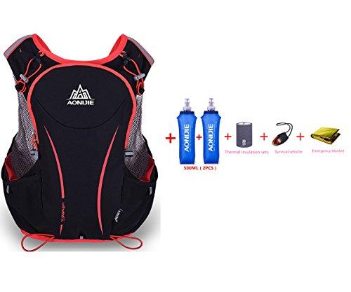 Detalles de la mochila de hidratación de nailon Aonijie