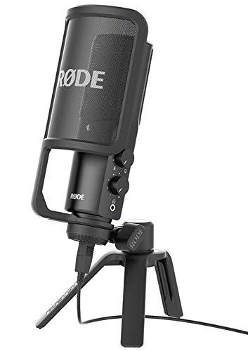 Detalle del micrófono USB Rode NT-USB