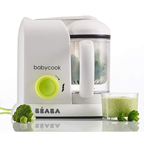 Detalles del procesador de alimentos para bebé Béaba babycook