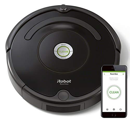 Detalles del robot aspirador iRobot Roomba 671