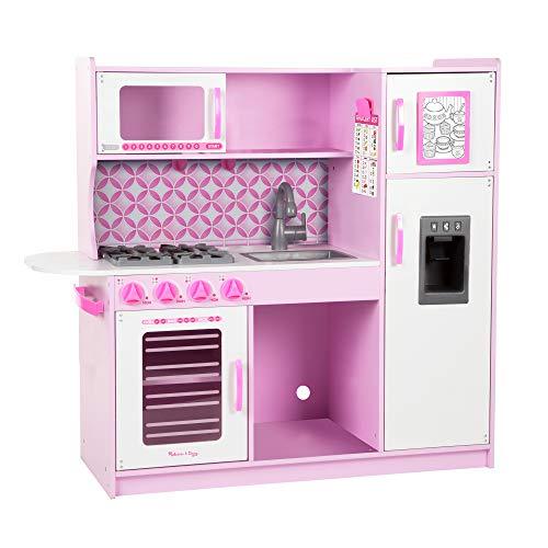 Descripción de la cocina de juguete Cupcake Chef's Kitchen Melissa & Doug