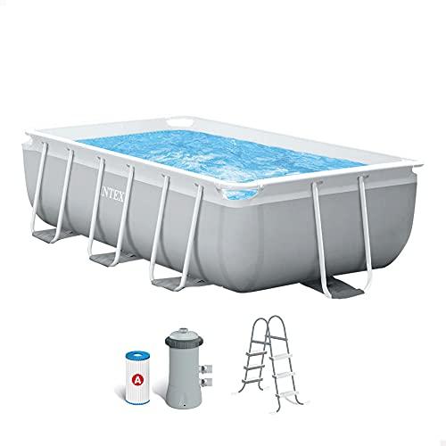 Detalles de la piscina desmontable Intex Prisma Frame
