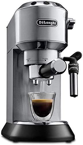 Detalles de la cafetera espresso DeLonghi Dedica