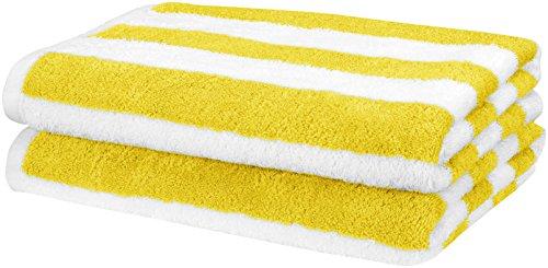 Descripción de la toalla de playa de Amazon Basics