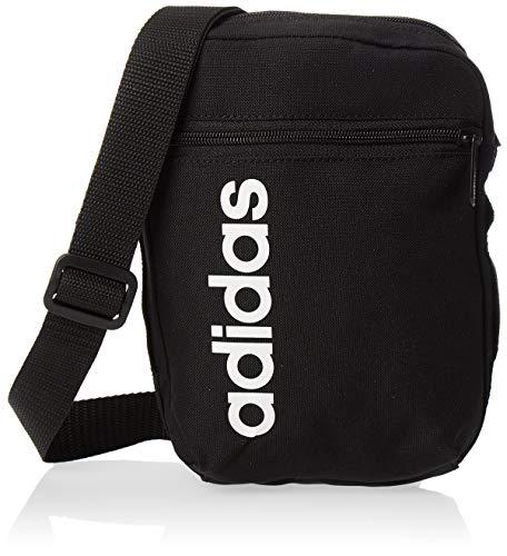 adidas Lin Core Org Organizer, Unisex adulto, black/black/white, NS