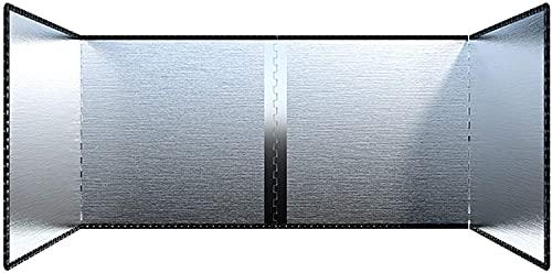 YZJL Pantallas antisalpicadurasCocinar Sartén Protector de Pantalla de Salpicaduras de Aceite Cocina de Acero Inoxidable Protector antisalpicaduras