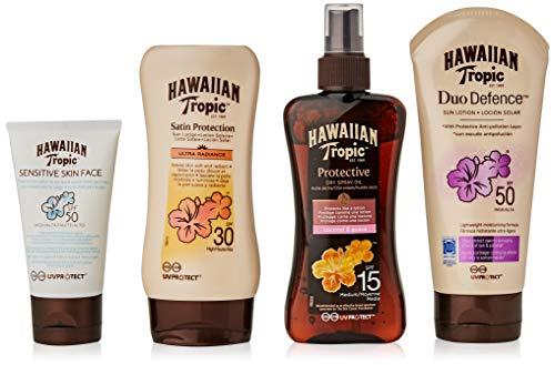 Detalles del protector solar Hawaiian Tropic