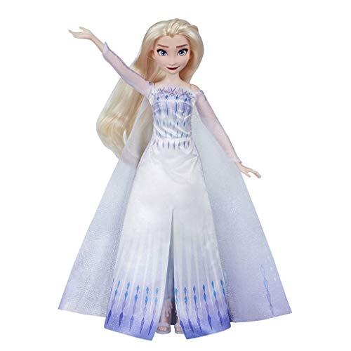 Descripción de la muñeca de la princesa Elsa