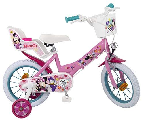 Detalles de la bicicleta infantil Minnie de Toimsa