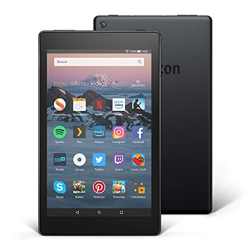 Detalles de la tablet Fire HD 8 32GB