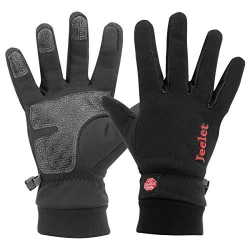 Detalles de los guantes de moto y compatibles con pantalla táctil