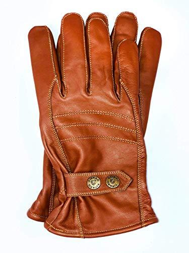 Detalles de los guantes de piel Riparo Motorsport