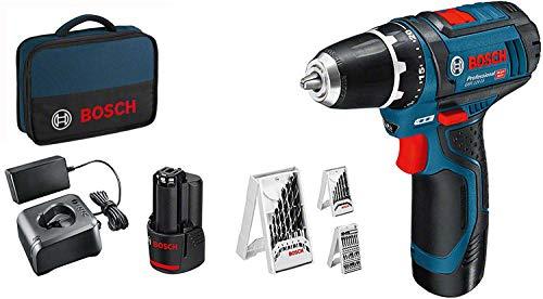 Descripción del taladro atornillador eléctrico Bosch GSR 12V 15