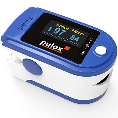 Detalles del oxímetro de pulso Pulox