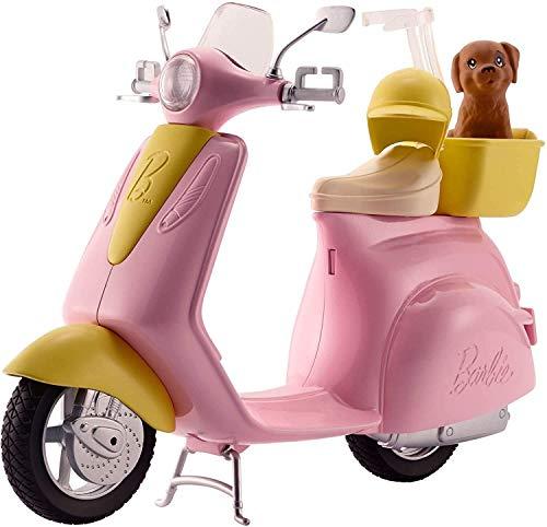 Barbie - Accesorios moto de Barbie, regalo para niñas y niños 3-9 años (Mattel FRP56)