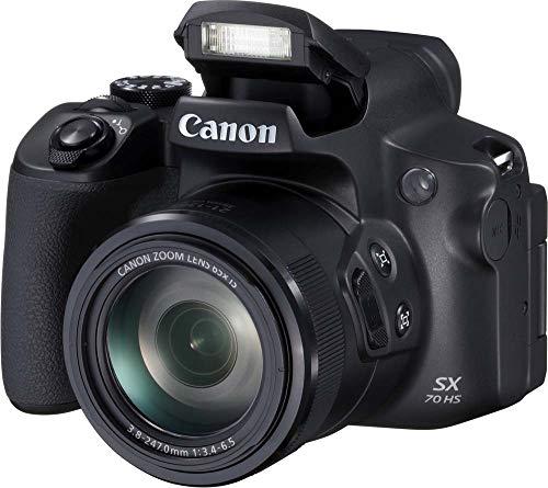 Detalles de la cámara bridge Canon Powershot SX70 HS