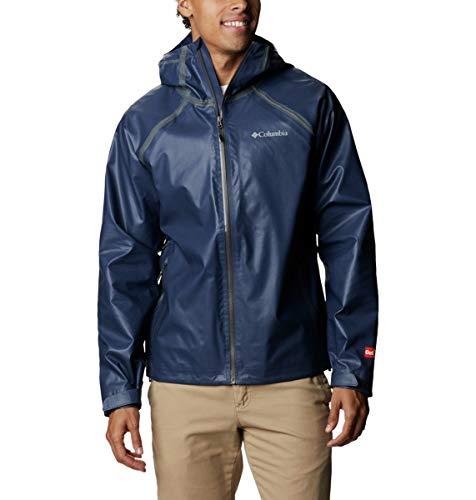 Detalles de la chaqueta de trekking Columbia Outdry Ex Reign