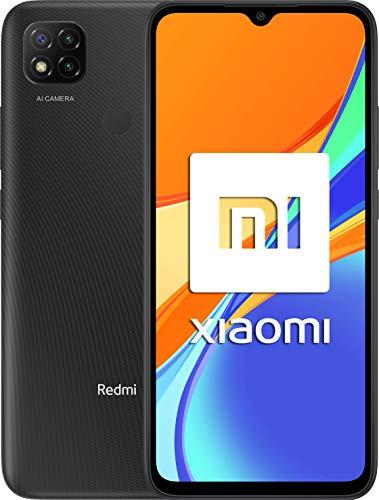 Xiaomi Redmi 9C NFC-Smartphone de 6.53' HD+ (3GB+64GB, 3x cámara trasera de 13MP con IA, MediaTek Helio G35, Batería 5000 mAh, 10 W carga rápida), Gris
