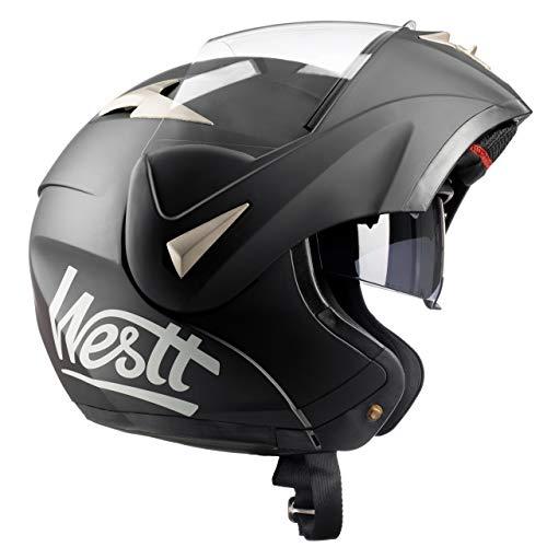 Detalles del casco de moto para scooter Westt Torque