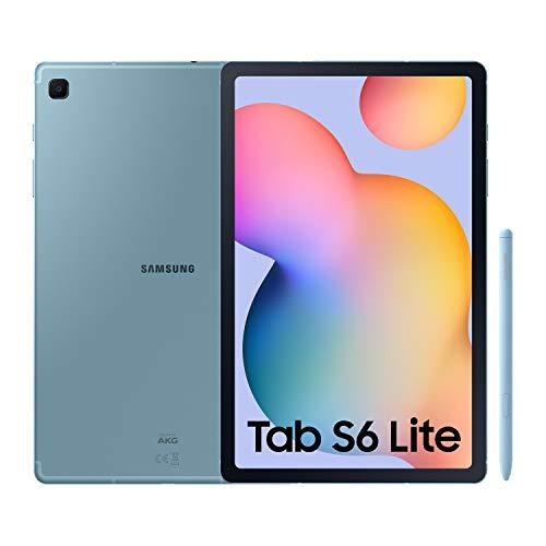 SAMSUNG Galaxy Tab S6 Lite - Tablet de 10.4\' (WiFi, Procesador Exynos 9611, RAM de 4GB, Almacenamiento de 64GB, Android 10) - Color Azul [Versión española]