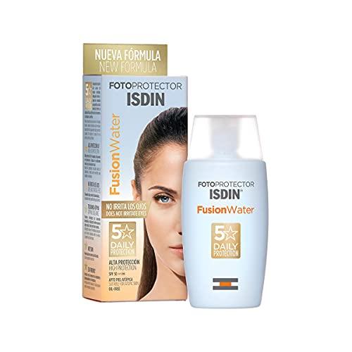 Detalles del protector solar facial ISDIN Fusion Water
