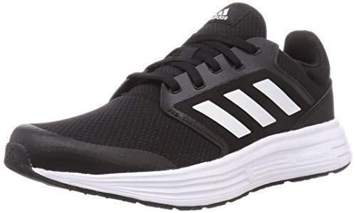 adidas Galaxy 5, Road Running Shoe Hombre, Core Black/Footwear White/Footwear White, 43 1/3 EU