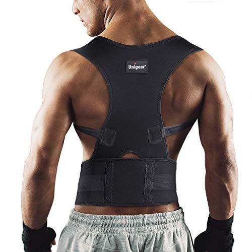 Descripción del corrector de postura de la espalda Unigear