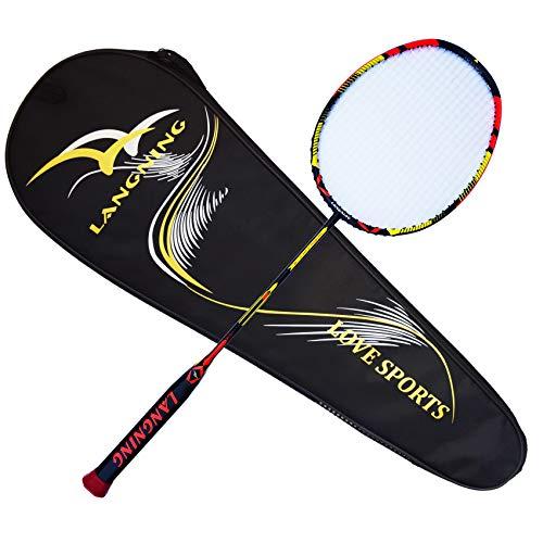 Detalles de la raqueta de bádminton Langning