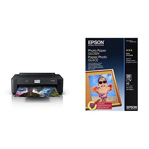 Detalles de la impresora fotográfica Epson Expression Photo HD XP-15000