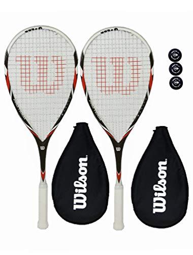 Detalles del juego de raquetas Wilson Pro Team