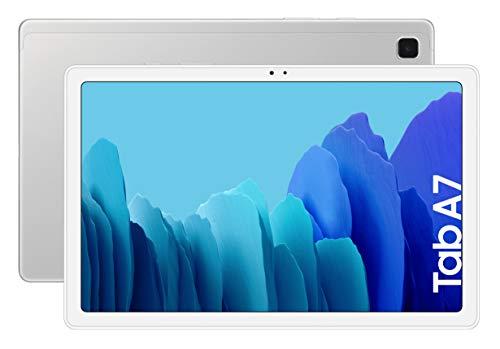 SAMSUNG Galaxy Tab A 7 | Tablet de 10.4\' (WiFi, Procesador Octa-Core Qualcomm Snapdragon 662, 3GB de RAM, 64GB de Almacenamiento, Android actualizable) Color Silver [Versión española]