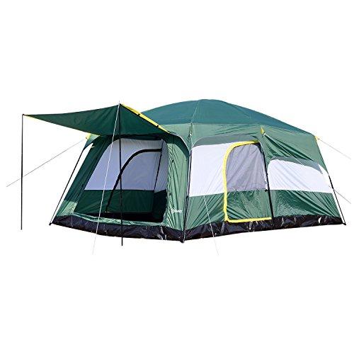 Détails de la tente familiale Outsunny