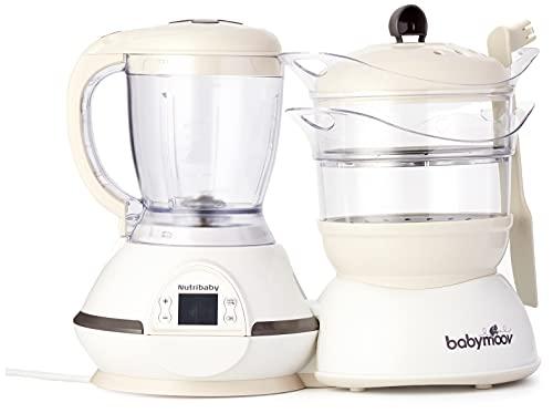 Detalles del procesador de alimentos para bebé Babymoov Nutribaby Classic